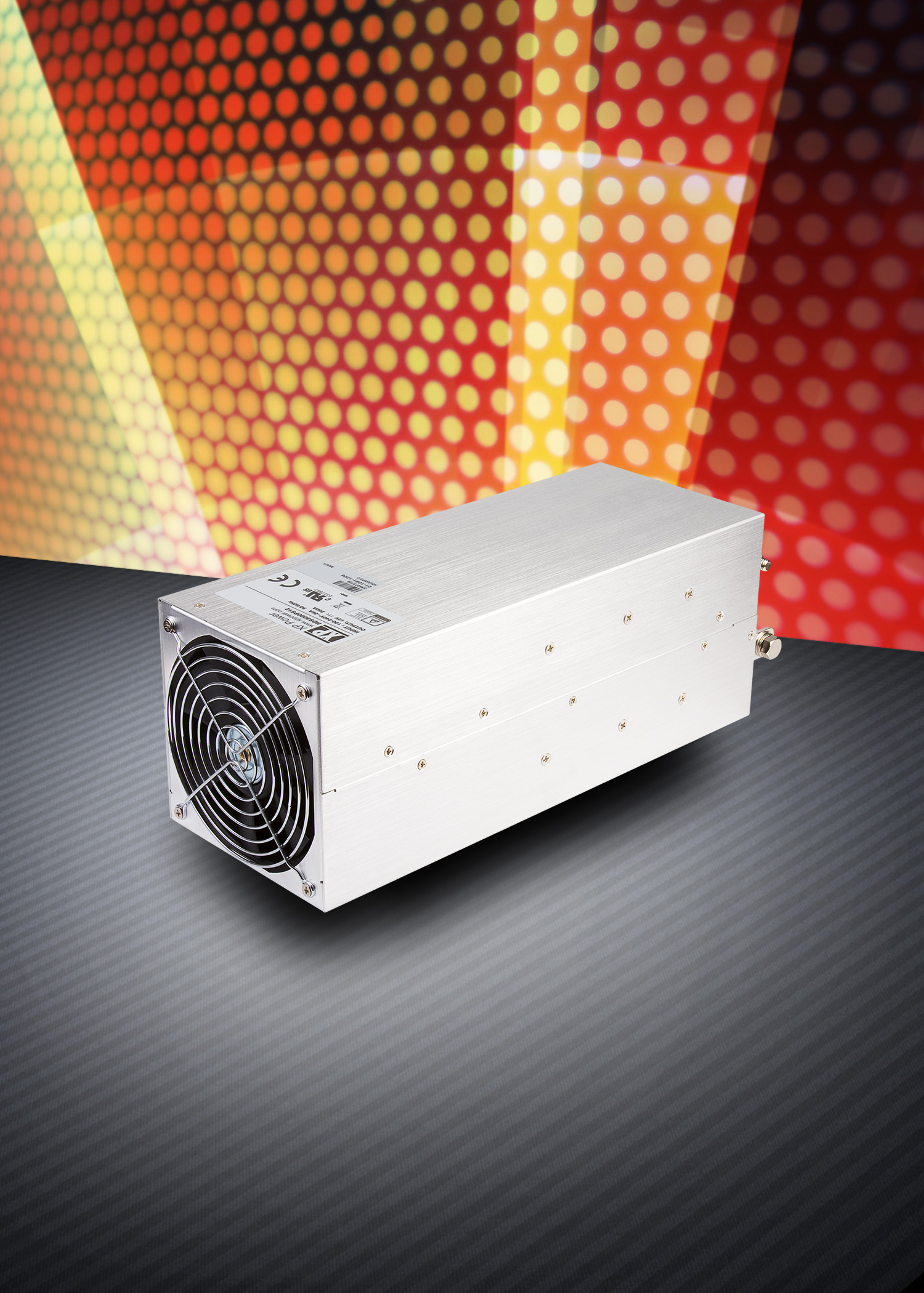 3000W AC/DC power supply provides current down to zero