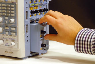 Plug-in modules upgrade data acquisition recorders