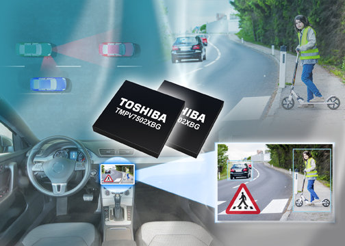 Processor can recognise lanes, road signs & vehicles