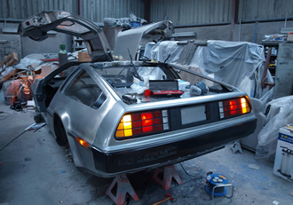 Belfast sends a DeLorean 'Back to the Future'