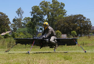 The 'worlds first' Hoverbike