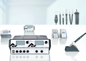 soldering stations target professionals hobbyists. Black Bedroom Furniture Sets. Home Design Ideas