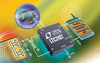 DC/DC converter extends battery life in WSNs