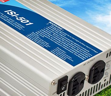 DC/AC inverter incorporates MPPT solar charger