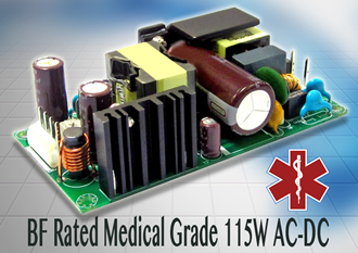 Power supplies are suitable for medical applications