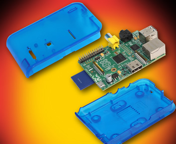 Functional enclosure launched for Raspberry Pi Model B
