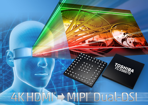 4K HDMI to MIPI dual-DSI converter billed as industry first