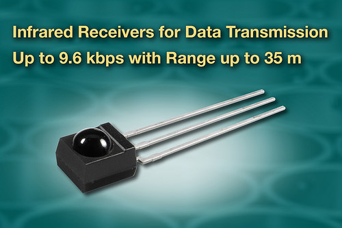 IR receivers lower data transmission costs & simplify design