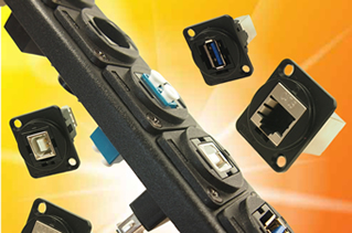 Connectors offer flexibility in control panel design