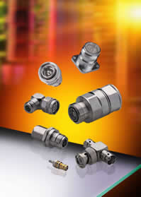 RF coaxial connectors cover swathe of applications