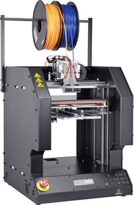 3D printer supported with plug and play control unit