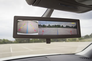 Intelligent rearview mirror for the automotive market
