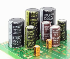 Electrolytic capacitors cover wide range of applications
