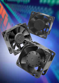 DC equipment fans offered in wide range of models