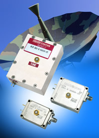 Dielectric resonator oscillators target satcoms systems