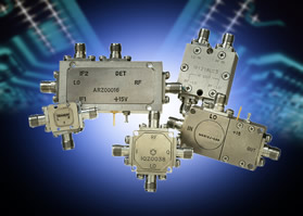 Mixer family covers frequencies from 1GHz to 50GHz