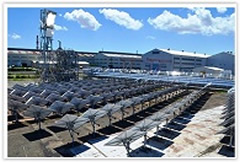 Solar thermal power system undergoes verification testing