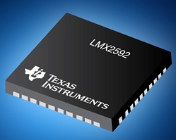 Wideband frequency synthesiser delivers low phase-noise performance