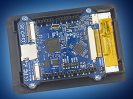 Arduino HMI shield powered by advanced graphics controller