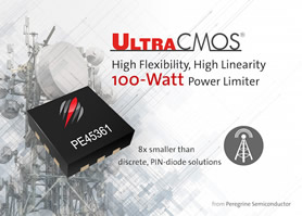 100W power limiter offers repeatable receiver protection