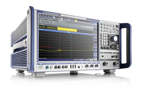 EMI test receiver meets commercial & military standards