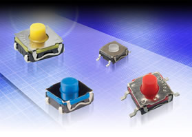 Surface-mount switches cope with intensive usage