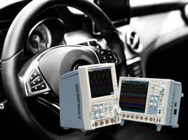 PSI5 bus support added to oscilloscopes range