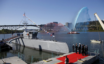 Self-driving warship helps reduce naval operating costs