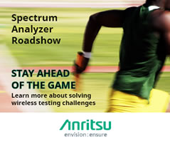 October dates set for spectrum analyser roadshow