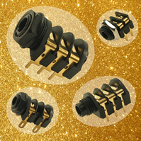 Gold plated contacts enhance jack socket range