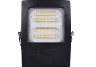 LED floodlights can be attached in one step
