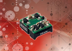 DC/DC converters drive capacitive loads up to 2200µF