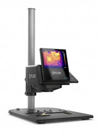 Thermal imaging camera helps cut test times