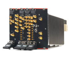 PXI microwave signal generator boasts frequency coverage to 44GHz