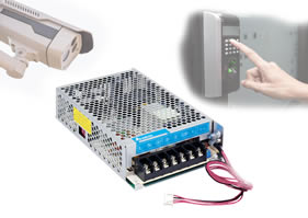 Panel mount power supplies offer integrated UPS DC voltage