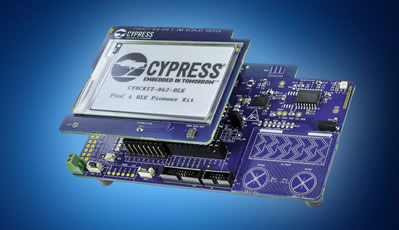 Development kit delivers flexible MCU to IoT designs