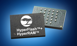 Memory sub-system combines NOR flash with self-refresh DRAM