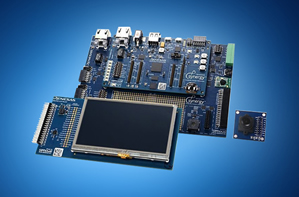 Development kits based on microcontroller series