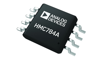GaAs MMIC switch controls signals from DC to 4GHz