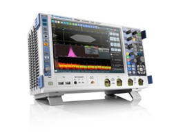 Oscilloscope's integrated generator takes on complex tests