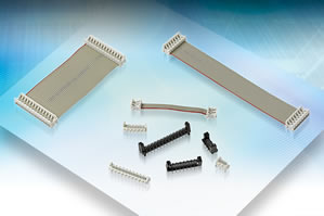 Connectors save space in high-vibration and shock environments