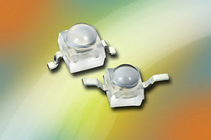 Ultrabright LEDs deliver high luminous intensity