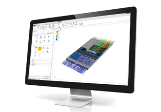 Thermal management software extends from component to system level