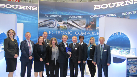 Anglia wins Bourns regional distributor accolade