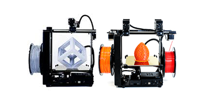 3D printers ready to take to the electronica stage