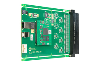 Module measures and tests analogue voltages on 128 channels.