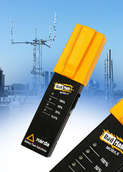 RF safety monitor protects from electromagnetic fields