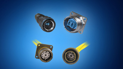 Fibre optic connectors withstand harsh environments