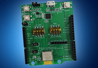 Bluetooth evaluation board target IoT applications