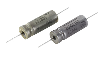 Tantalum capacitors meet military market demands